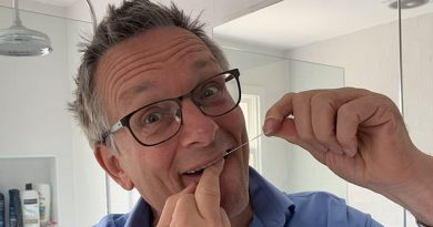 DR MICHAEL MOSLEY: Flossing protects me from dementia and strokes