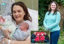 Woman, 41, has 'miracle twins' after beating cervical cancer