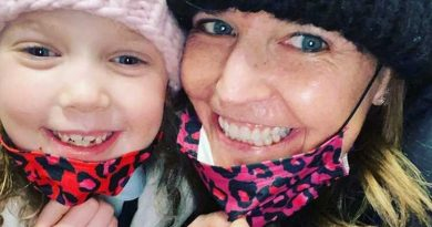 Savannah Guthrie Twins with Daughter Vale, 6, in Matching Masks: 'Loving Up on My Little'