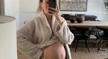 Lauren Bushnell Lane Shows Off Baby Bump at 25 Weeks, Admits She Worried Belly Is 'Too Big'