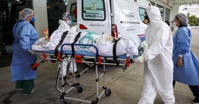 Brazil registers over 1,300 COVID-19 deaths for fifth straight day